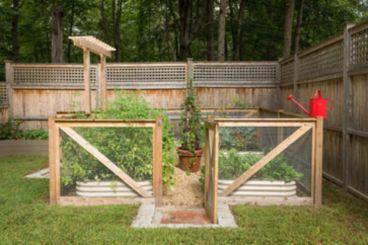 Stunning vegetable garden fence ideas (16)