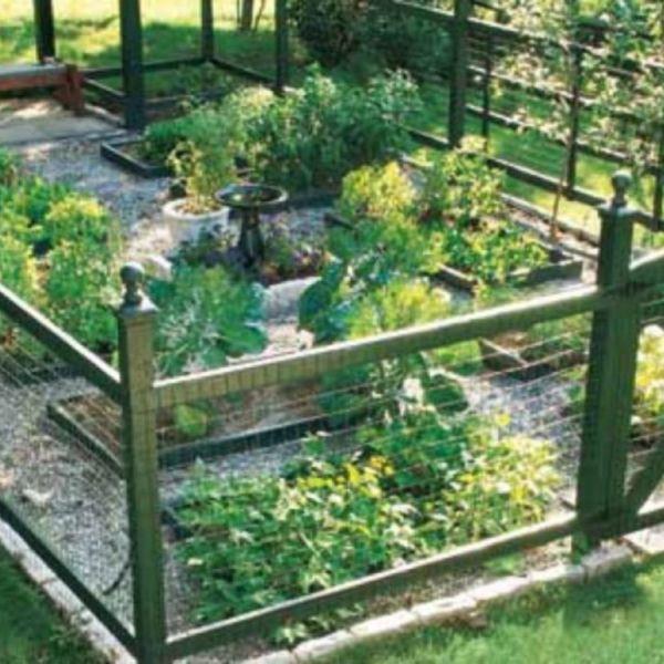 22 Stunning Vegetable Garden Fence Ideas