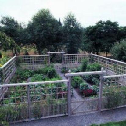 Stunning vegetable garden fence ideas (4)
