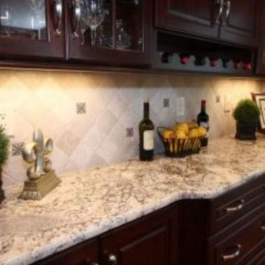 Stylish dark brown cabinets kitchen 38