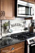 Stylish dark brown cabinets kitchen 53