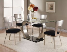 Stylish painted dining room table 30