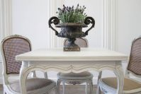 Stylish painted dining room table 42