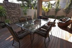 Stylish small patio furniture ideas 16