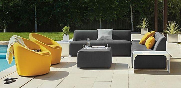 Stylish small patio furniture ideas 18