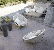 Stylish small patio furniture ideas 19