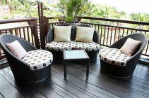 Stylish small patio furniture ideas 29
