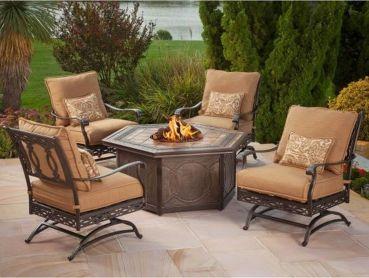 Stylish small patio furniture ideas 34