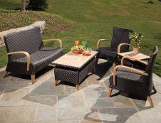Stylish small patio furniture ideas 45