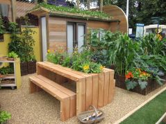 Stylish small patio furniture ideas 58