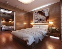Stylish wooden flooring designs bedroom ideas 28