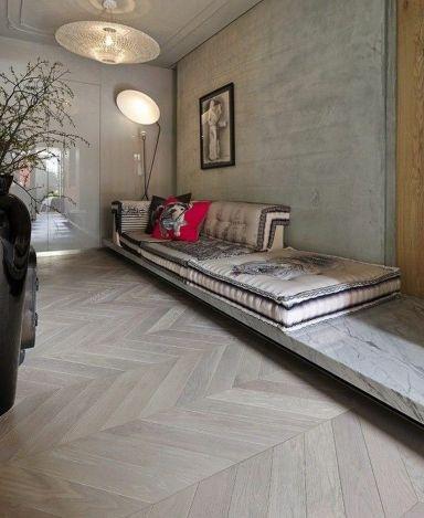 Stylish wooden flooring designs bedroom ideas 45
