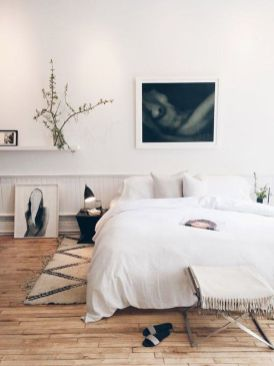 Stylish wooden flooring designs bedroom ideas 47