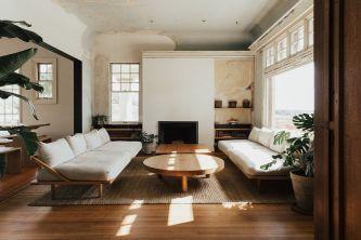 Stylish wooden flooring designs bedroom ideas 74