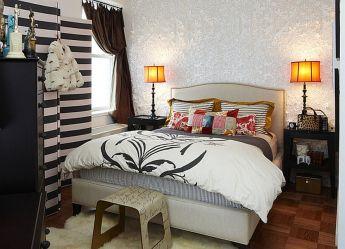 Stylish wooden flooring designs bedroom ideas 79