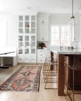 Wood and glass kitchen cabinets 50