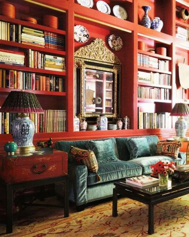 Adorable burnt orange and teal living room ideas 15
