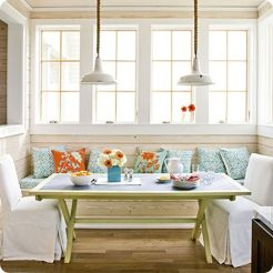 Adorable burnt orange and teal living room ideas 17