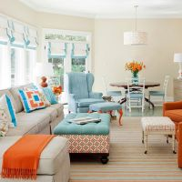 53 Adorable Burnt Orange And Teal Living Room Ideas