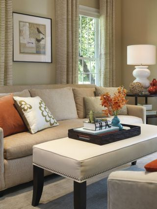 Adorable burnt orange and teal living room ideas 29