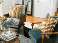 Adorable burnt orange and teal living room ideas 50