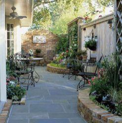 Adorable small patio garden design ideas 03