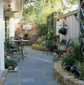Adorable small patio garden design ideas 03