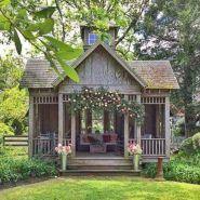 Adorable small patio garden design ideas 15