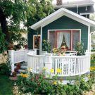 Adorable small patio garden design ideas 24