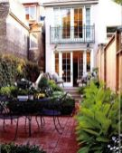 Adorable small patio garden design ideas 39