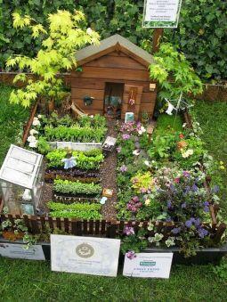 Affordable backyard vegetable garden designs ideas 08