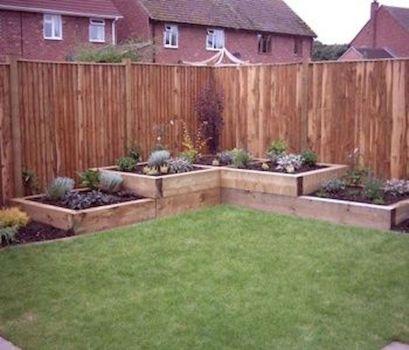Affordable backyard vegetable garden designs ideas 14