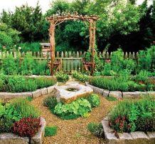 Affordable backyard vegetable garden designs ideas 50