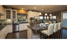 Amazing cream and dark wood kitchens ideas 13
