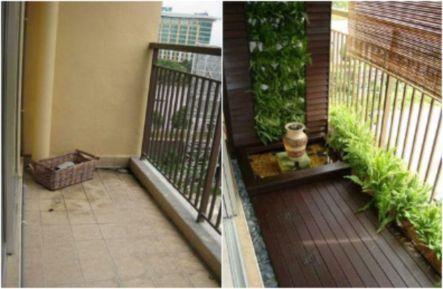 Amazing small balcony garden design ideas 50