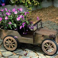 54 Amazing Wooden Garden Planters Ideas You Should Try