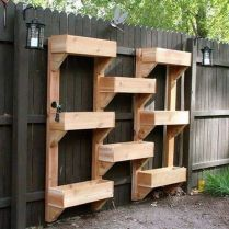 Amazing wooden garden planters ideas you should try 27