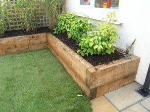 Amazing wooden garden planters ideas you should try 30