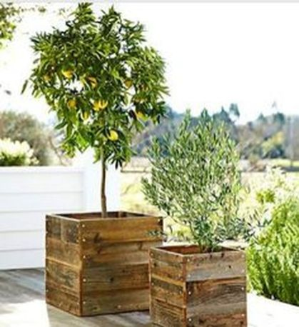 Amazing wooden garden planters ideas you should try 31