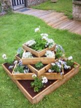 Amazing wooden garden planters ideas you should try 46