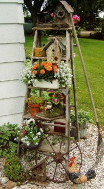 Amazing wooden garden planters ideas you should try 47