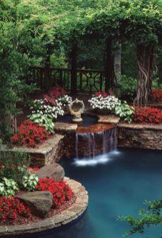 Beautiful flower garden decor ideas everybody will love 30