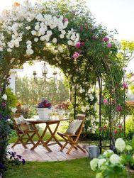Beautiful flower garden decor ideas everybody will love 36