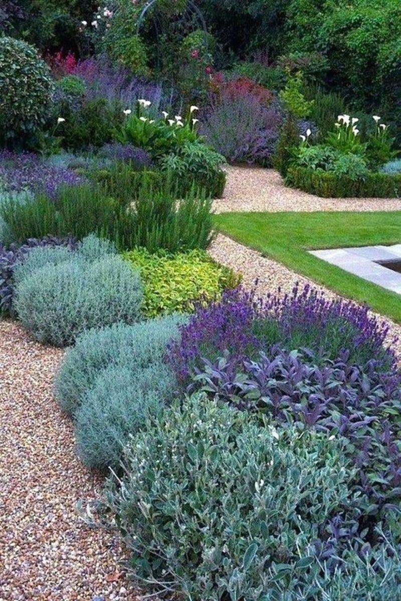 Beautiful french cottage garden design ideas 13