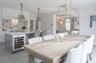 Beautiful hampton style kitchen designs ideas 06