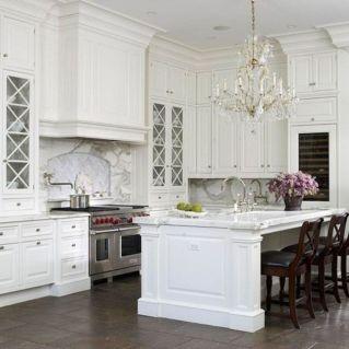 Beautiful hampton style kitchen designs ideas 26