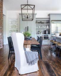 Beautiful hampton style kitchen designs ideas 29