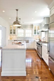 Beautiful hampton style kitchen designs ideas 30