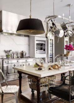 Beautiful hampton style kitchen designs ideas 35