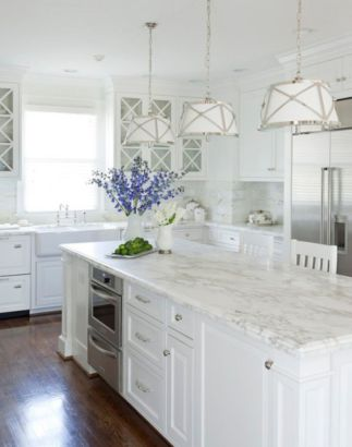 Beautiful hampton style kitchen designs ideas 38